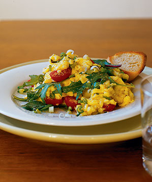 scrambled-eggs-asian-greens-0