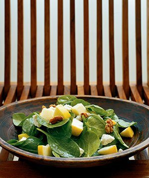 spinach-aapple-salad