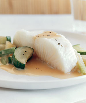 sea-bass-cucumbers-champagne-sauce