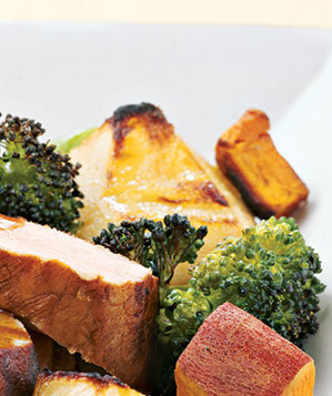 broccoli-sweet-potatoes-pears