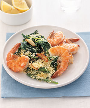 shrimp-arugula-couscous