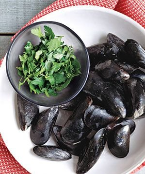 mussels-parsley