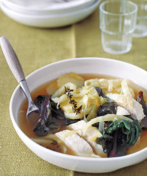 poached-chicken-vegetables
