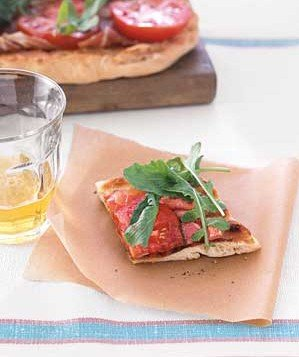 Grilled BLT Pizza Recipe | Real Simple