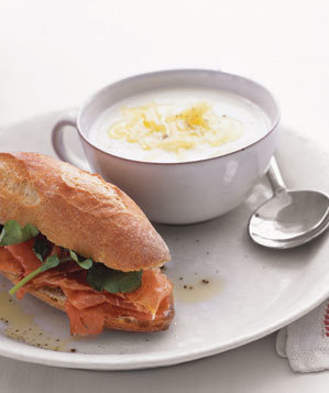 cauliflower-soup-prosciutto-sandwiches