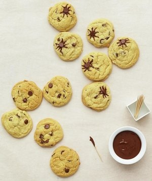 chocolate-chip-spider-cookie