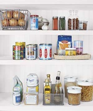 shelves-food