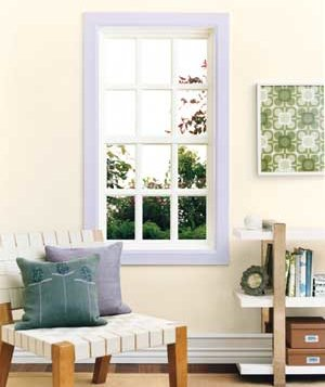 paint interior window frames