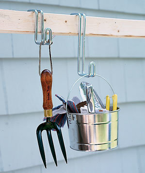 Movable Hooks Allow You To Rearrange Tools As You Wish To