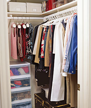 Systemize Your Closet Smart Ways To Clear Clutter And
