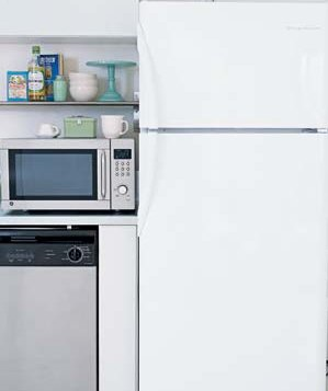 microwave-refridgerator-kitchen