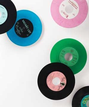 records-different-colors
