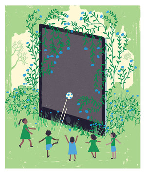 soccer-screen-kids-summer