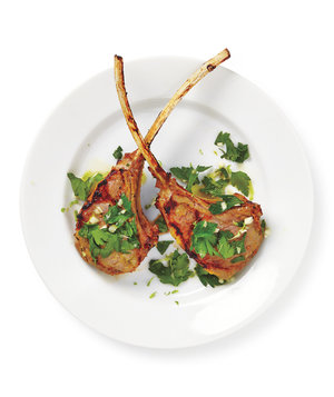 Broiled Lamb Chops With Parsley Gremolata