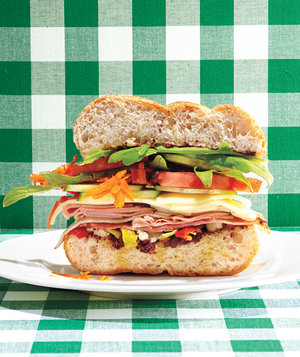 arugula-recipes-five-layer-sandwich