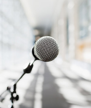 microphone-speech