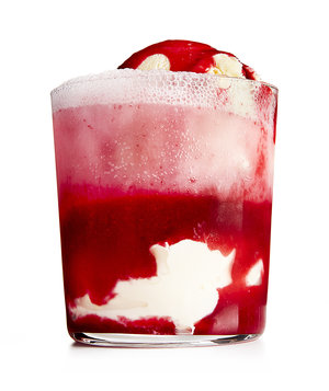 Pluot-Cherry Float