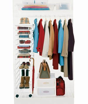 Coat Hanging Solutions how to maximize your closet space | real simple