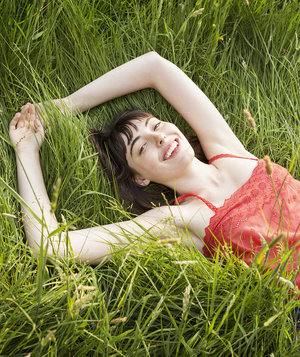 woman-grass-summer