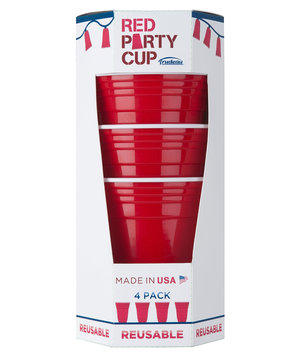 trudeau-red-party-cup-set