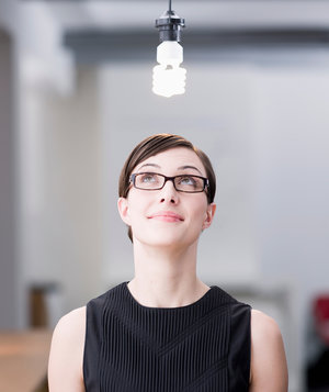 woman-light-bulb