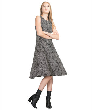 zara-herringbone-dress