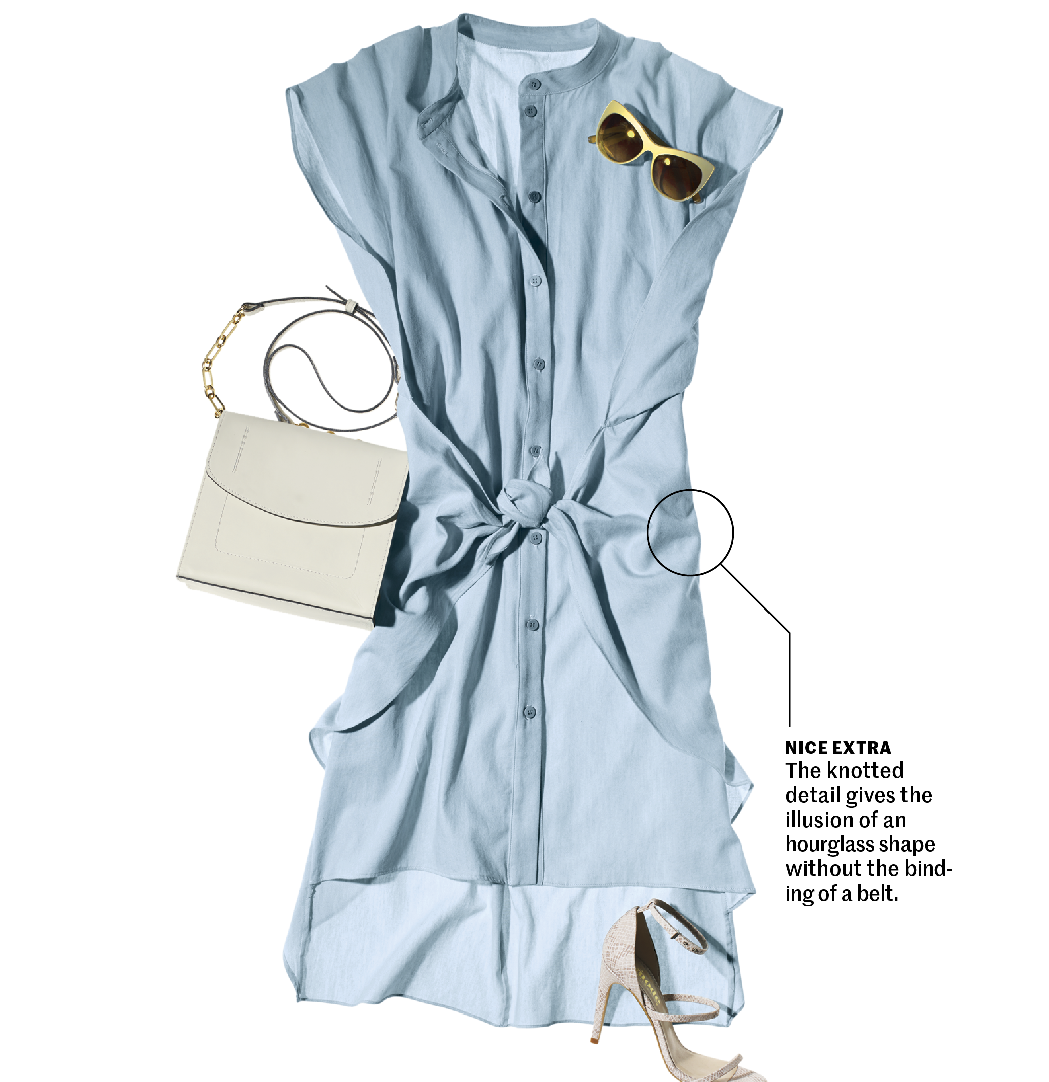 how-to-wear-a-shirtdress