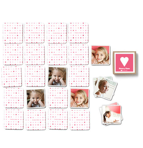 Valentine Gifts for Kids: Hearts Memory Game