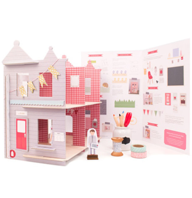 Valentine Gifts for Kids: DIY Dollhouse