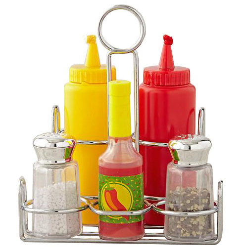 The Land of Nod Play Condiment Set