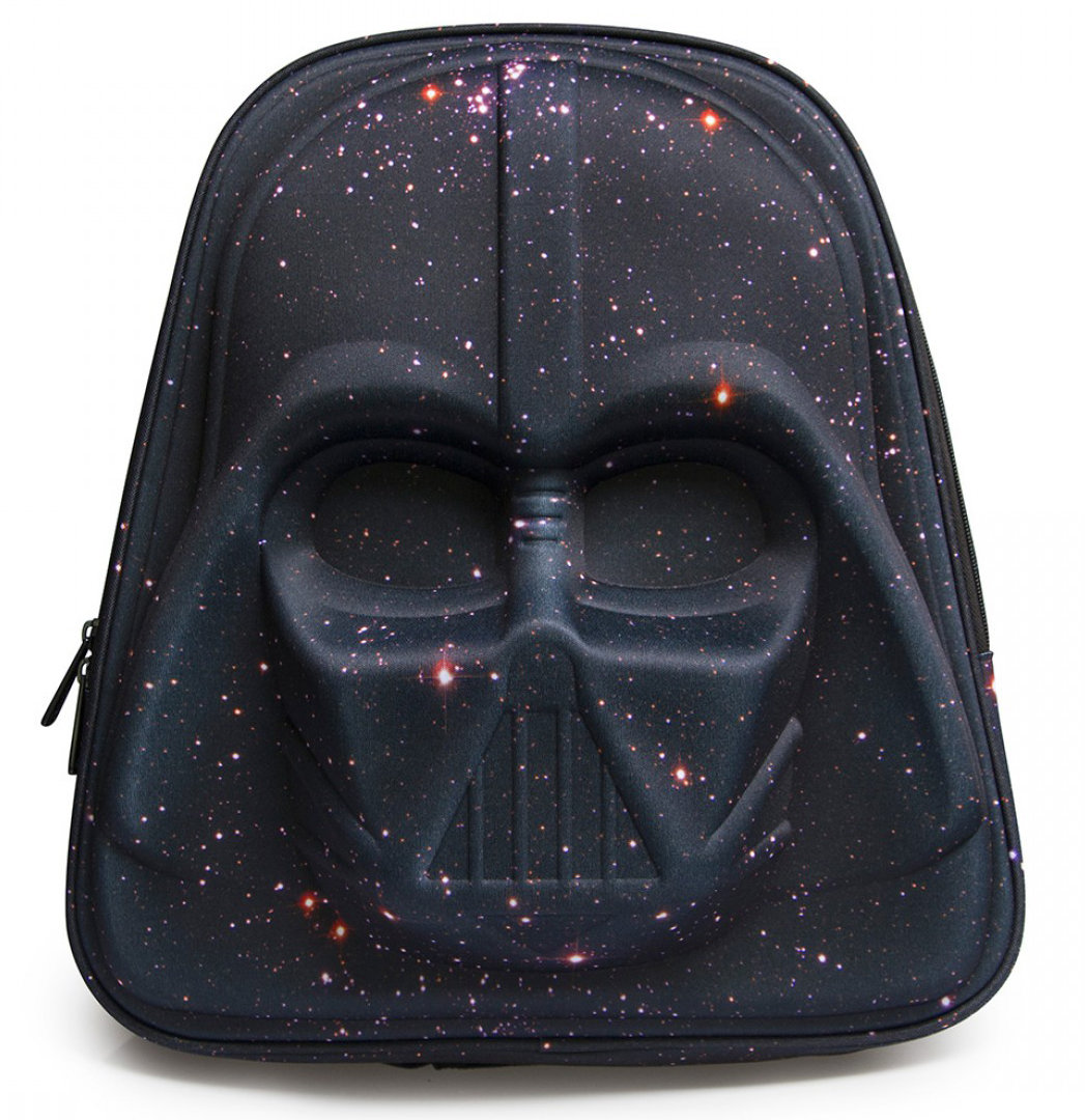 b7529d9ee4 Loungefly x Star Wars Galaxy Print Darth Vader 3D Backpack