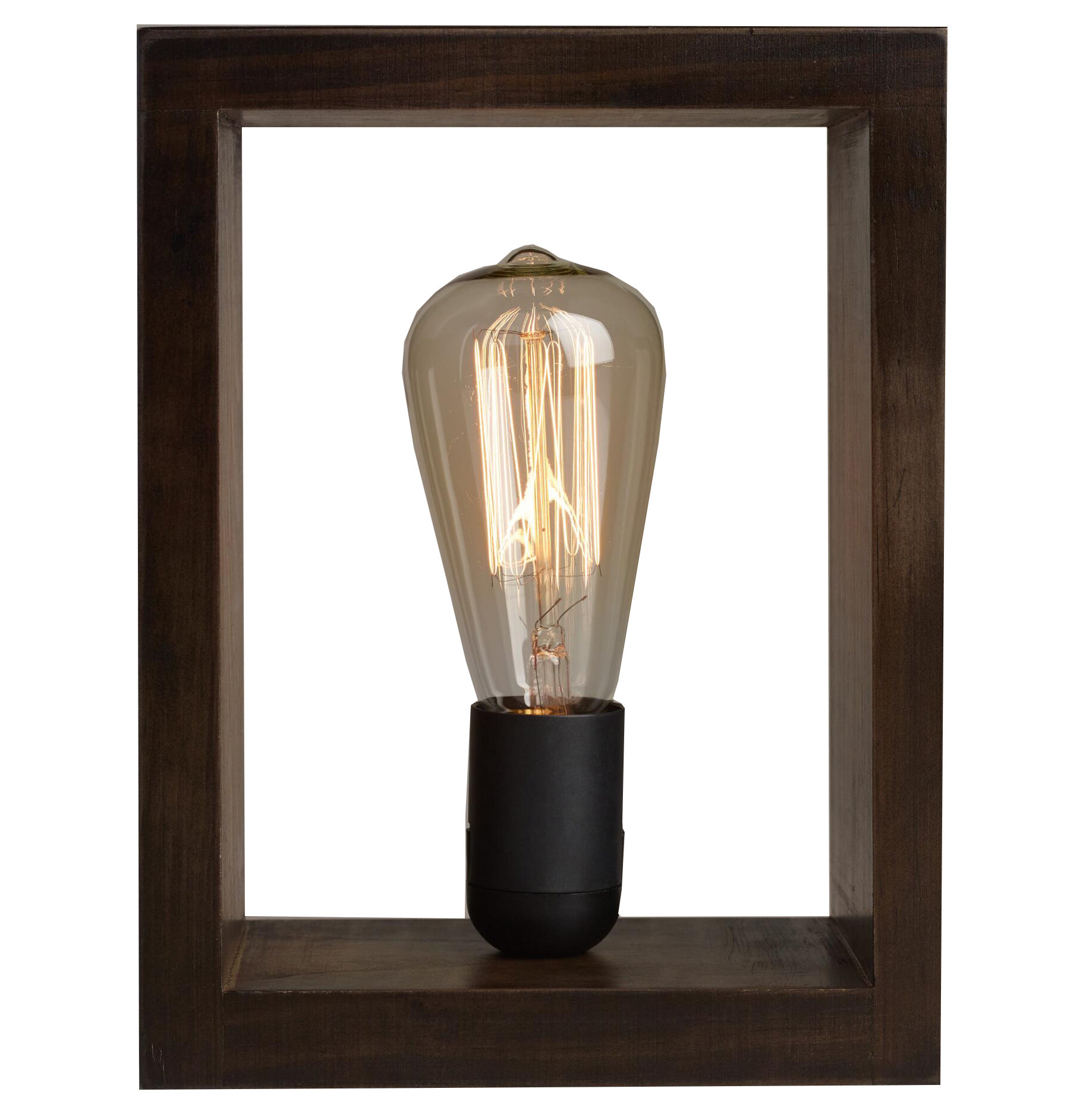 Shadow Box Edison Lamp
