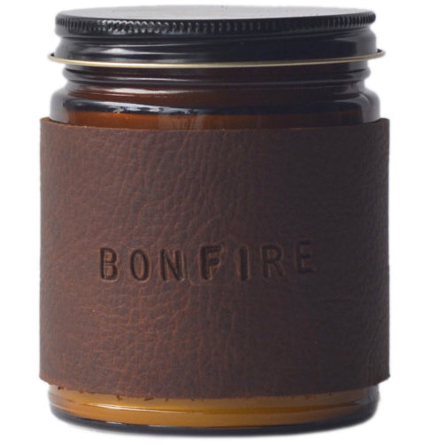 Gift Ideas for Men for Valentine's Day and Birthdays: Bonfire Candle