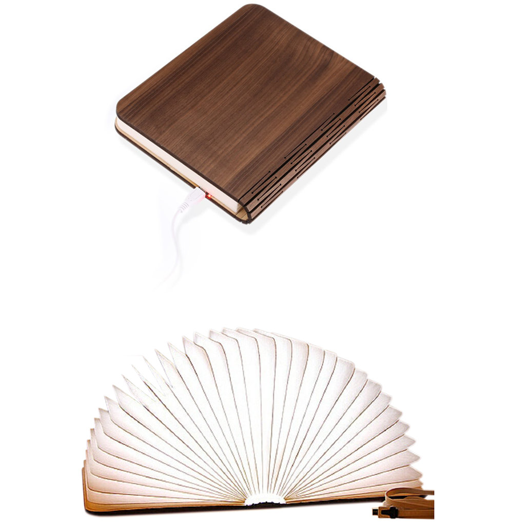 Gift Ideas for Men: Folding Rechargeable Book Light