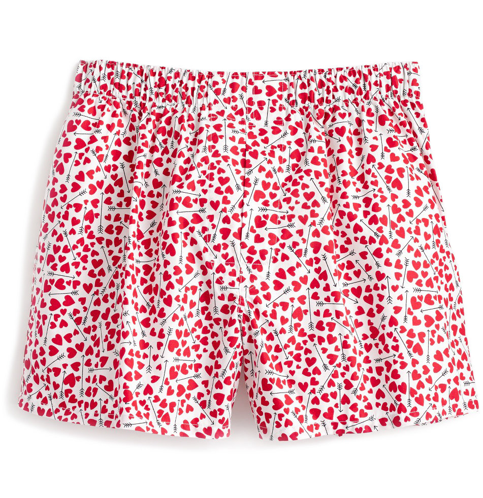Hearts and Arrows Print Boxers