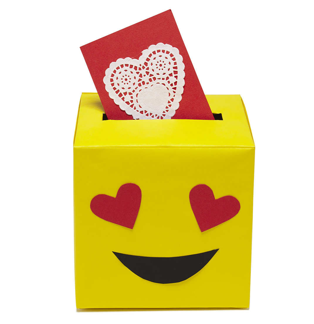 valentine's day card boxes | real simple