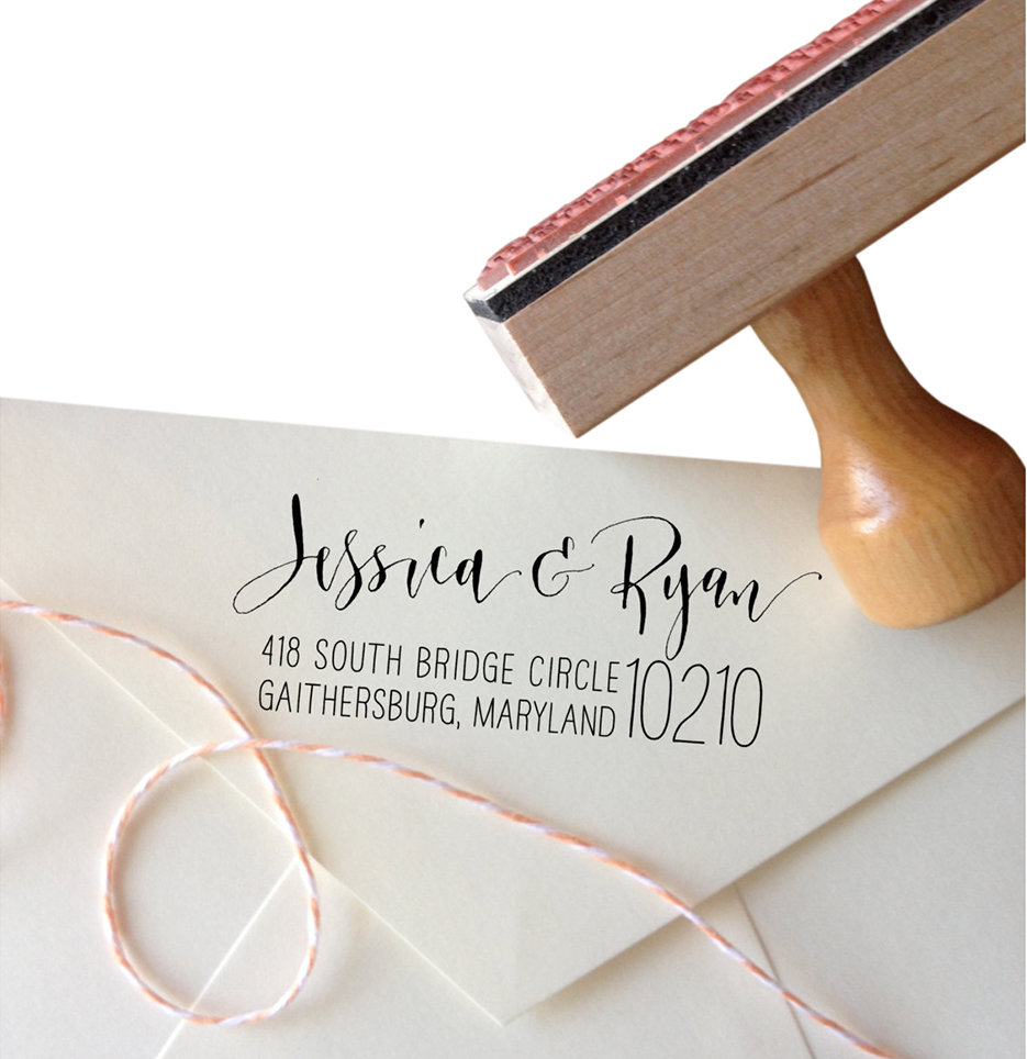 Personalized Calligraphy Name Stamp