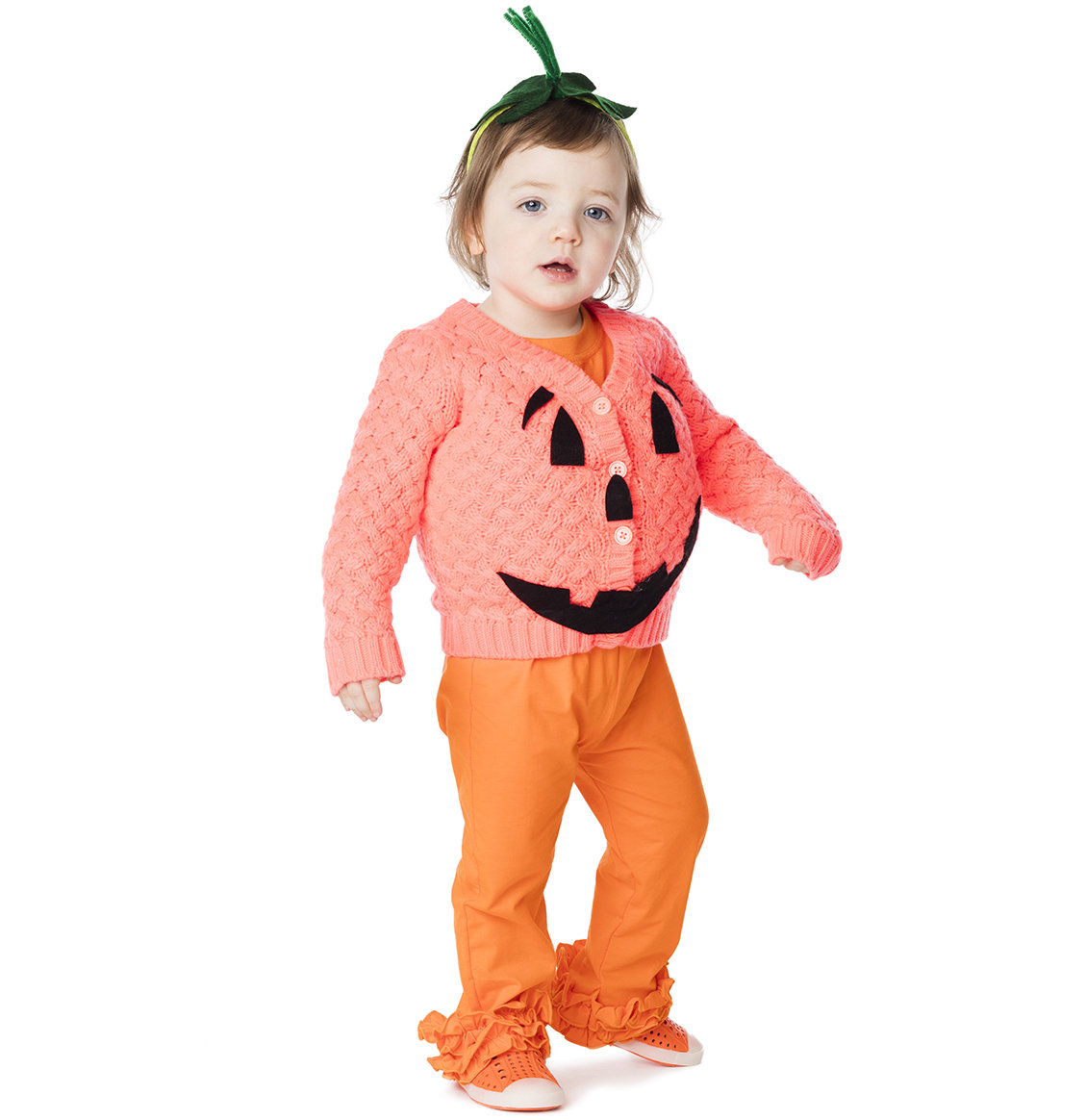 7cc44345d The Easiest (Cutest) DIY Pumpkin Costume Ever