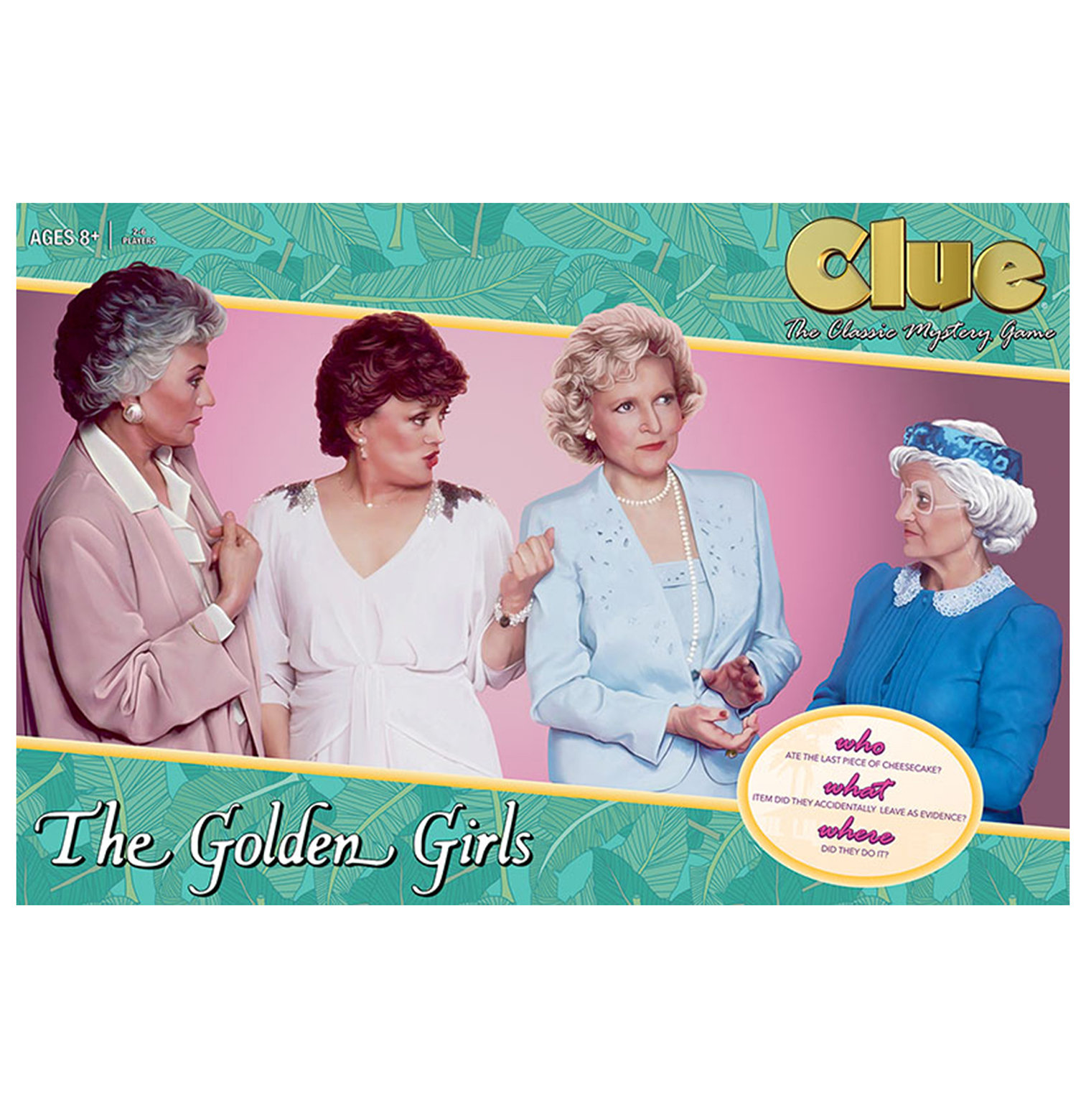 Best White Elephant Gifts: Golden Girls Clue Game