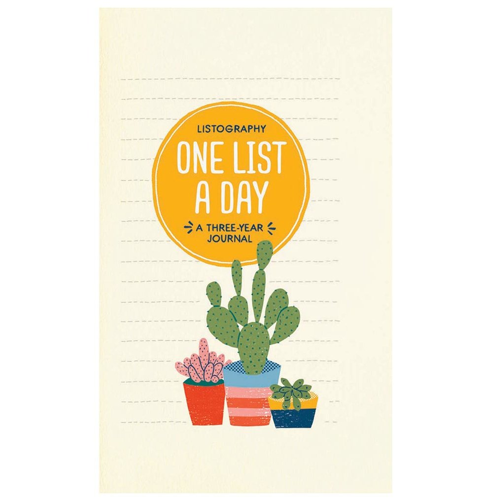 One List a Day: A Three-Year Journal by Lisa Nola