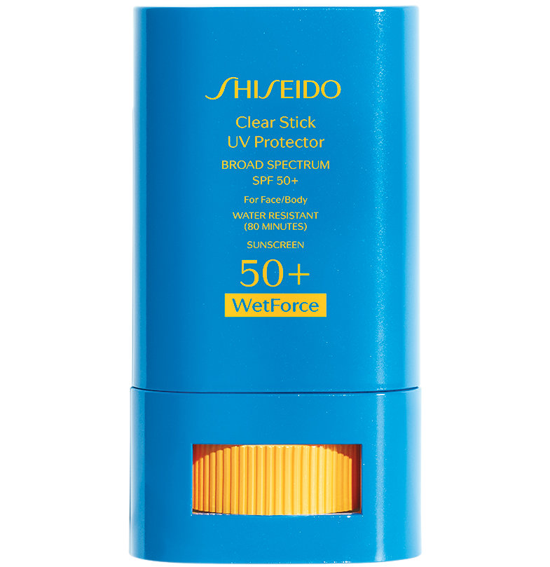 Shiseido Clear Stick UV Protector WetForce SPF 50+