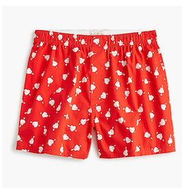 Gift Ideas for Men for Valentines Day: Boxers from J Crew