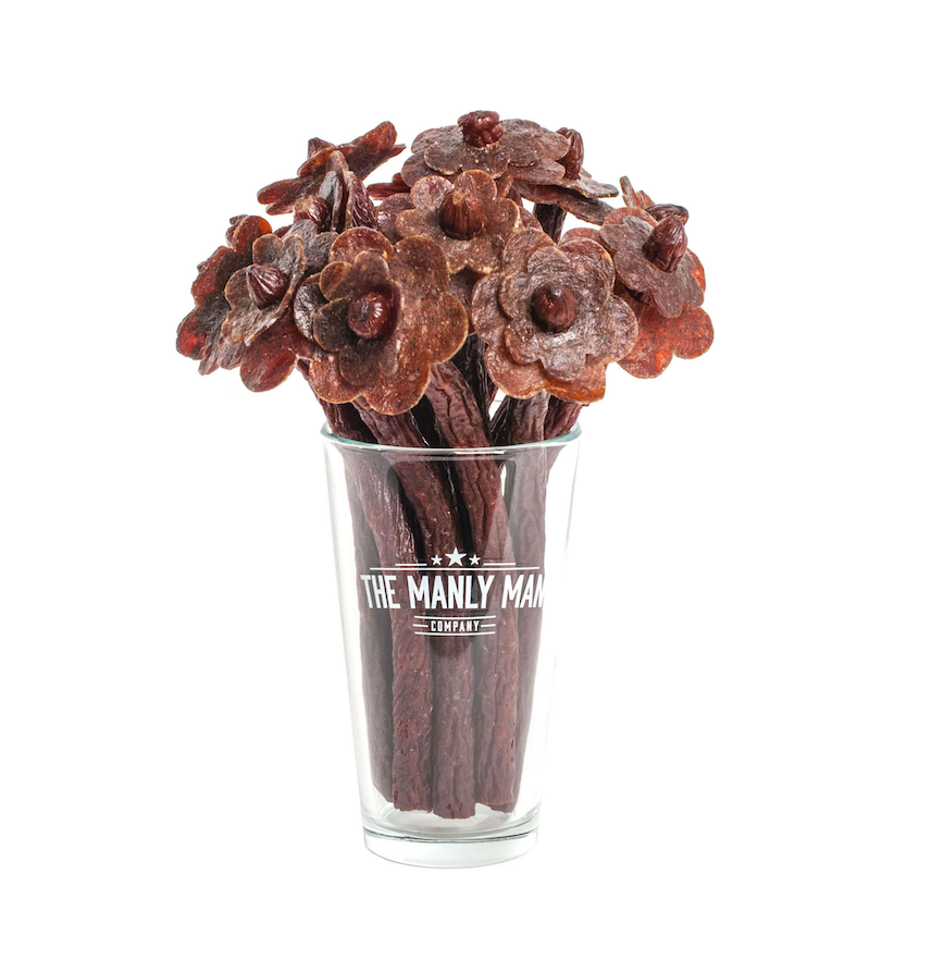 Valentines Day Gifts for Him: Beef Jerky Bouquet