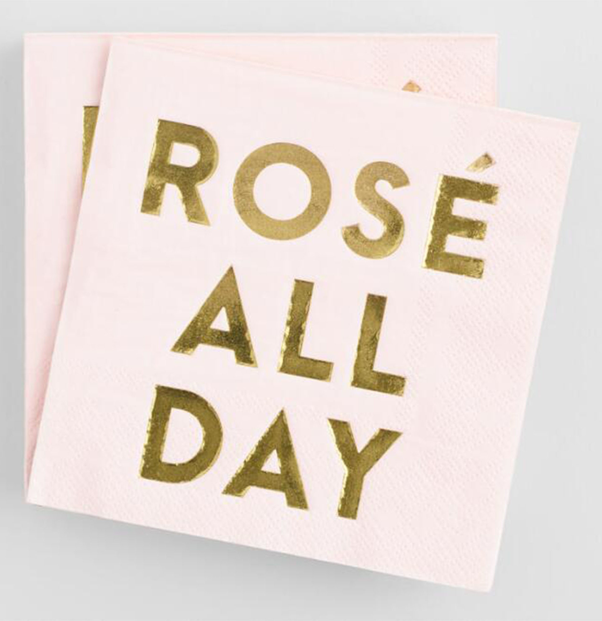 Rosé All Day Cocktail Napkins