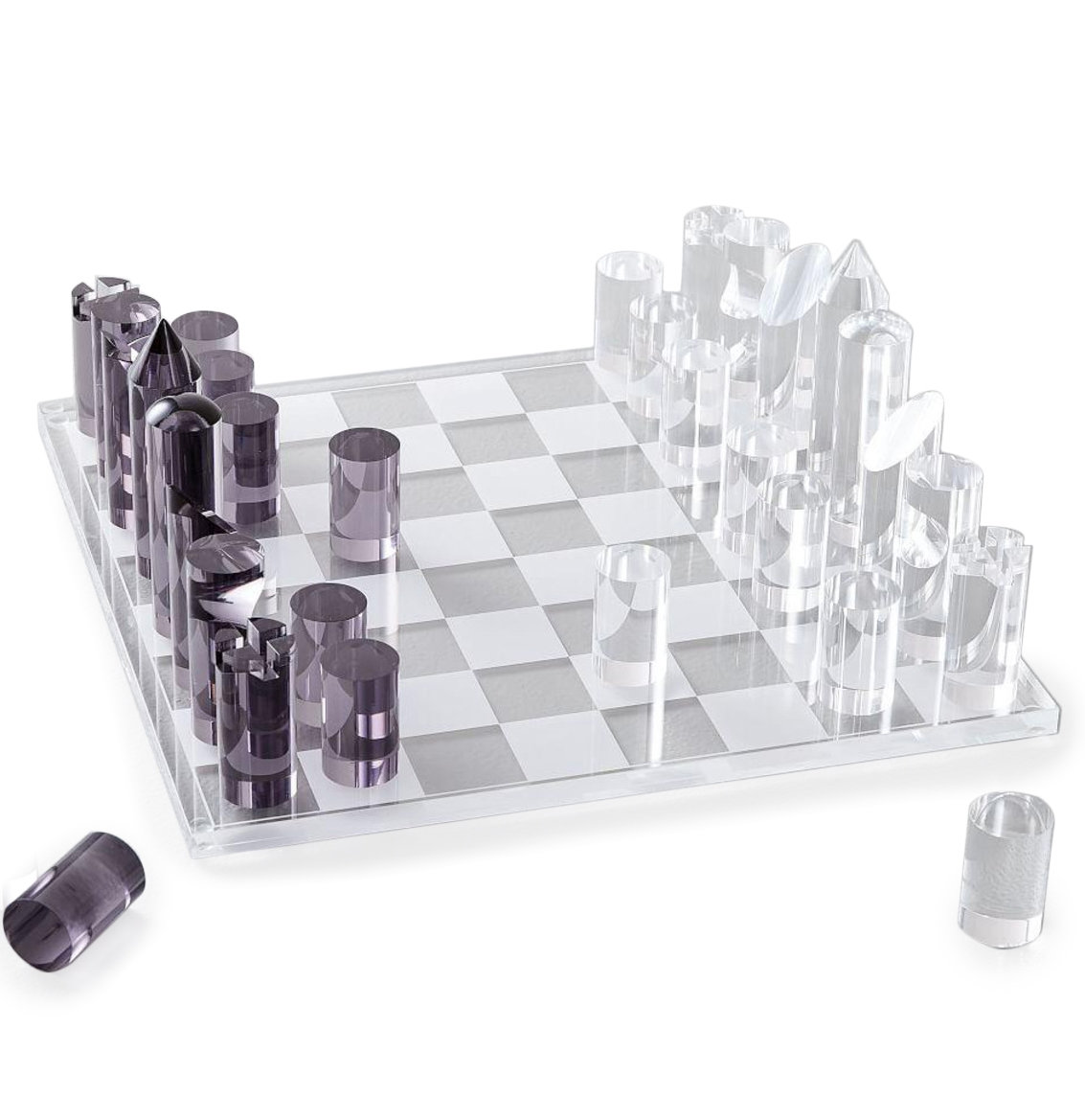 Best Christmas gifts 2019 - West Elm Acrylic Chess