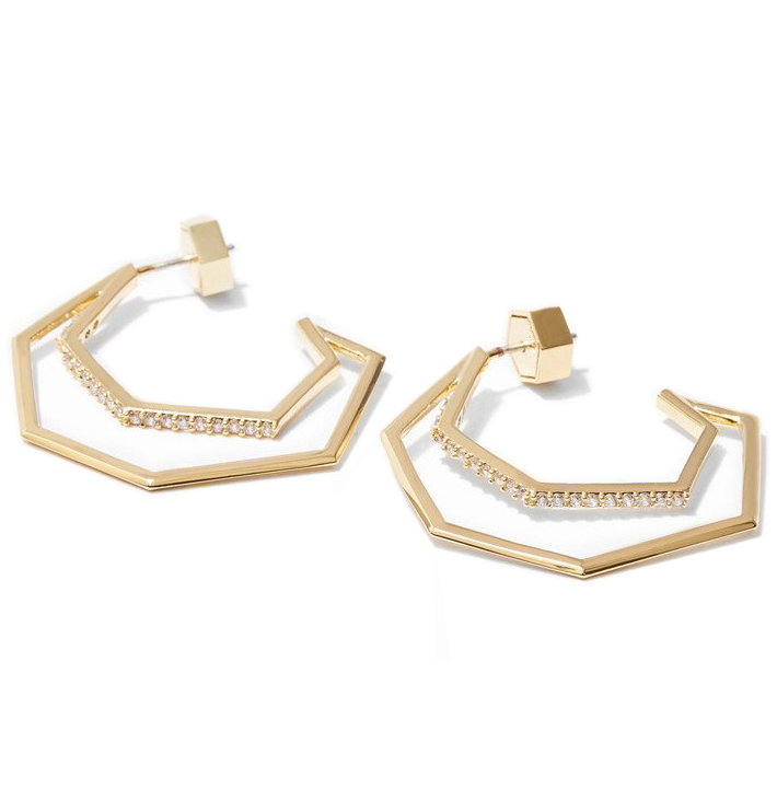 Via Saviene Aris Hoop Earrings