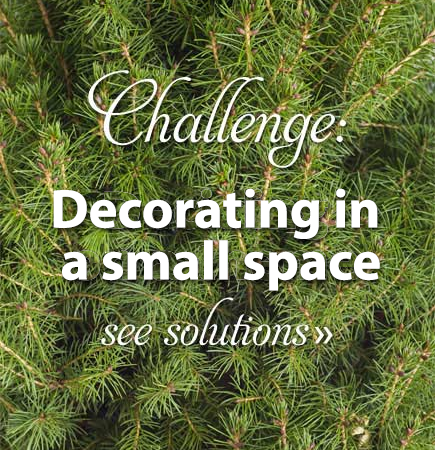 Challenge: Decorating in a Small Space
