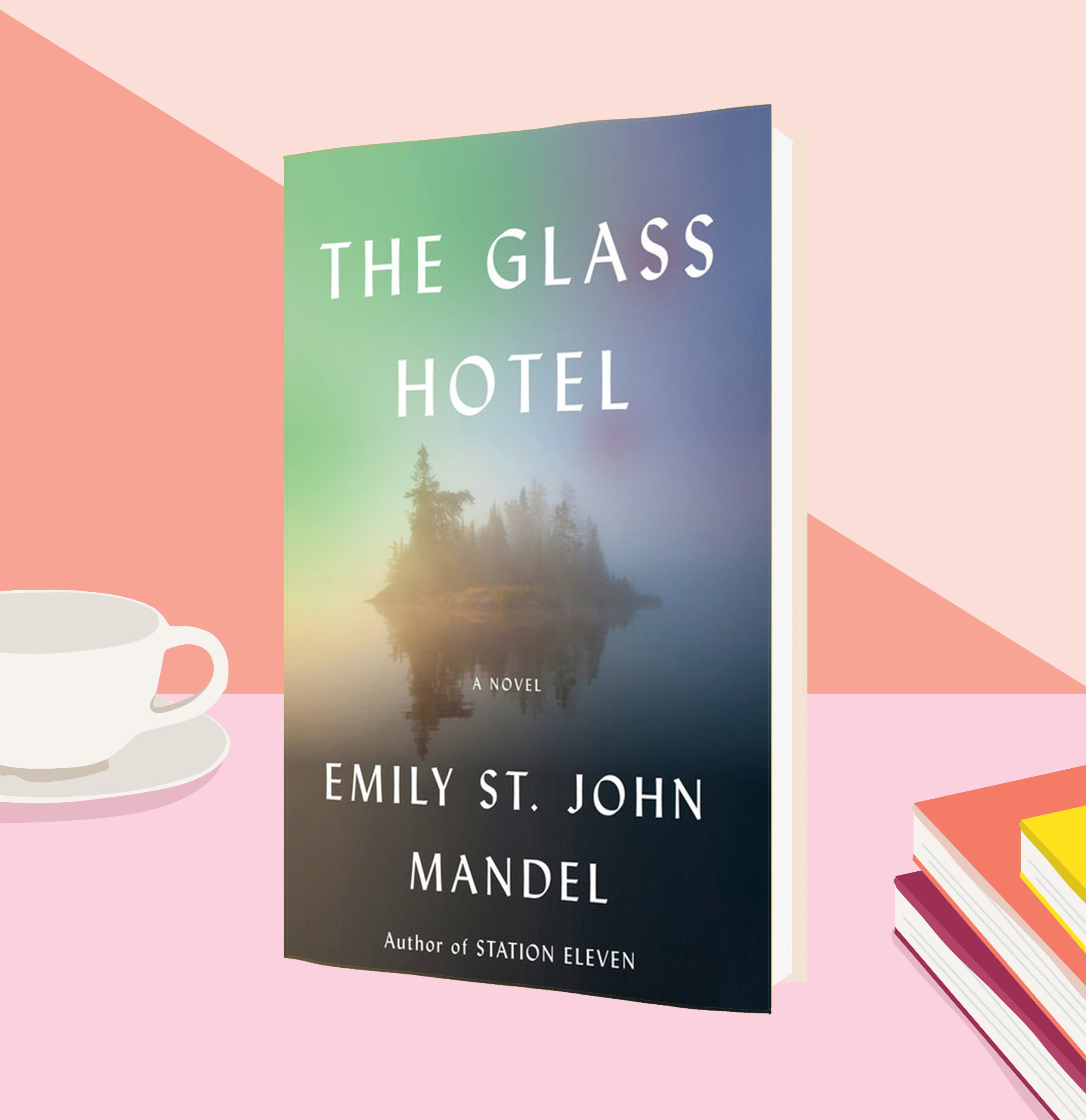 Cover of The Glass Hotel, by Emily St. John Mandel