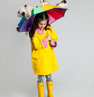 Raining Cats and Dogs costume wiht kid