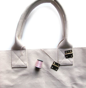 Hardware Handbag steps